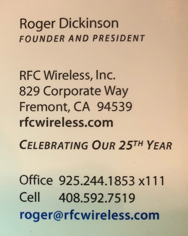 RFC Wireless p2